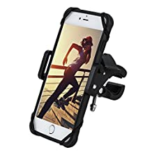 Gear Beast Universal Bike Phone Mount Mobile Cell Phone Holder Case for iPhone 8 7 7 Plus 7s 7s Plus 6s 6s Plus 6 6 Plus Galaxy S8 S8 Plus S7 S7 Edge S6 Note 8 5. GPS Mount Motorcycle Phone Mount