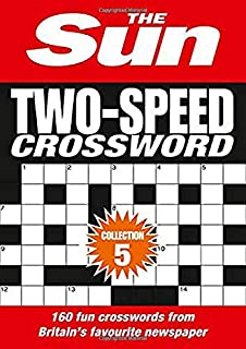 The Sun Two Speed Crossword Book 10 80 Two In One Cryptic And