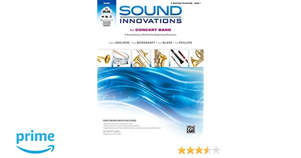 Amazon com: Sound Innovations for Concert Band, Bk 1: A