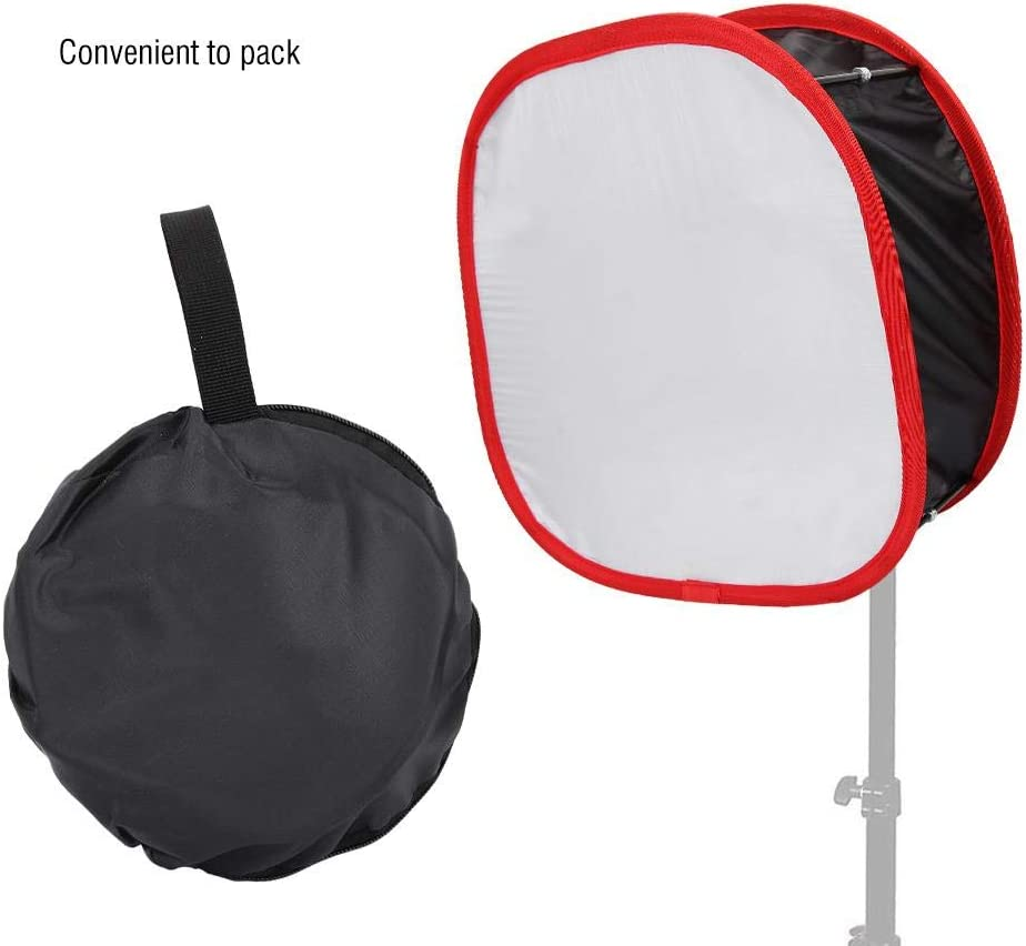 Mugast 16.3x16.3x3 Inches Large LED Light Panel Softbox Foldable Portable Light Diffuser for Photography Lighting Use.