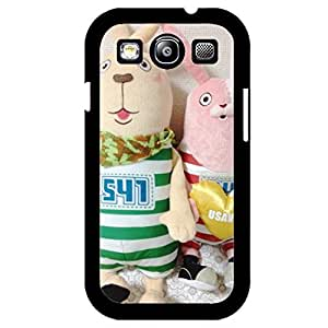 Attractive Elegant Cover Case Comic Usavich Phone Case for Samsung Galaxy S3 I9300 Usavich Rabbit Design Cover Shell