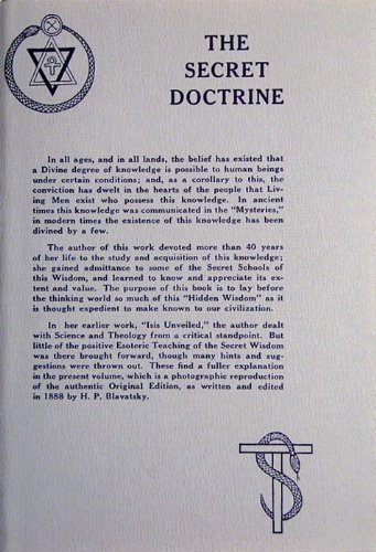 The-Secret-Doctrine-Volumes-I-and-II-A-Facsimile-of-the-Original-Edition-of-1888
