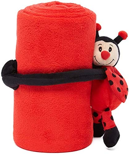 HUGZ Stuffed Animal Plush with Super Soft Microplush Toddler Blanket, 40
