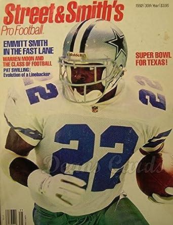 7c2105495c3 Street & Smith's Pro Football 1992 Emmitt Smith Dallas Cowboys (Football  Magazine / Publication)