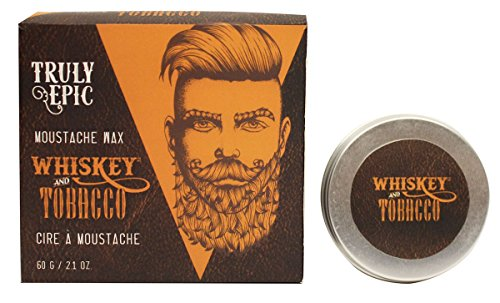 Whiskey and Tobacco Truly Epic Moustache Wax