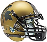 NCAA Michigan State Spartans Authentic XP Football Helmet, Gold