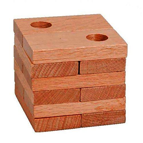Fridolin 17316/ /Puzzle in legno/ /scatola Qi perline