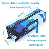 4 pack Tool Pouch Utility Zipper Tool Bags, Heavy
