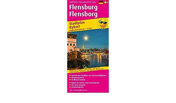 Bykort Flensborg Kort Over Flensborg 2020 01 29