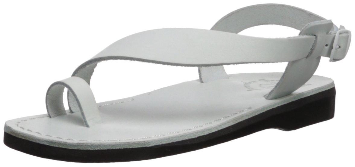 Jerusalem Sandals Women's Mia Sandal B075KZ62MF 40 Medium EU (9-9.5 US)|White