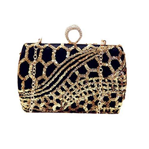 Perles pour Sequin YANXH Femme nbsp;Soirée À avec Main Sac À Main Pochette Et Sac Vintage La nbsp;De qtw6S