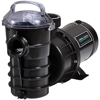 Pentair DYNII-N1-1HP Dynamo One Speed Aboveground Pool Pump with 3-Feet Standard Cord, 1 HP,115V