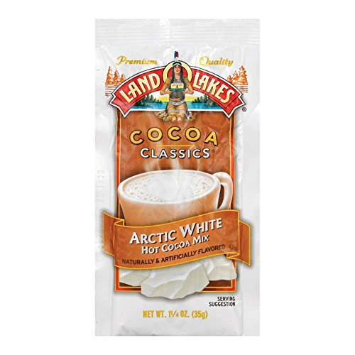 Land O Lakes Cocoa Mix, Arctic White, 12 Count ()