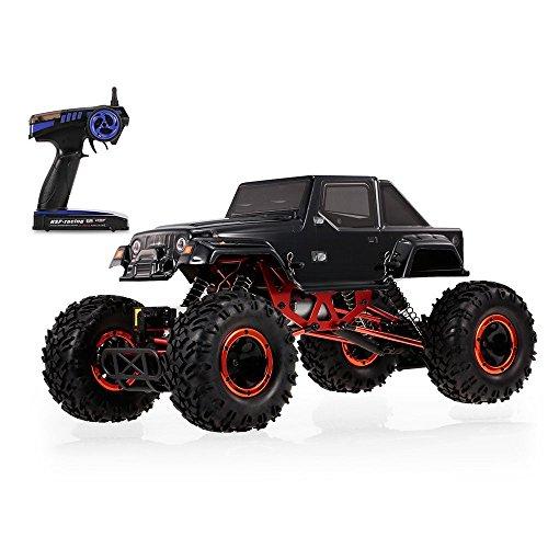 Goolsky ラジコン車 HSP 94180 1/10 2.4G 4WD 高速 RCオフロード車 ロッククローラー 子供 ギフト 子供 おもちゃ RTCの商品画像