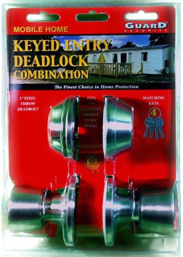 (Mobile Home Keyed Entry Deadlock Combination Keyed Alike)