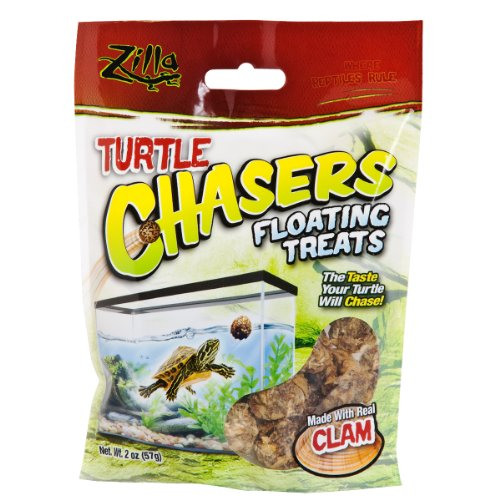 2 Ounce Clam (R-Zilla 100109607 Real Clam Turtle Chasers Floating Treat, 2-Ounce)