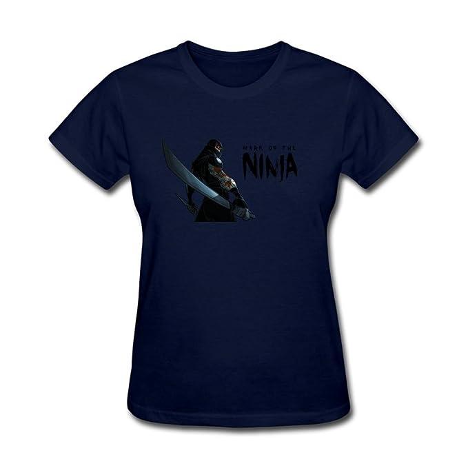 Amazon.com: JXK Womens Mark of The Ninja Logo T-Shirt: Books