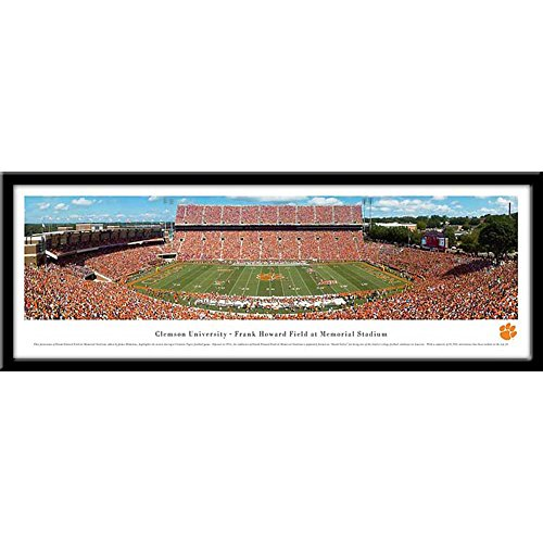 Campus Images Clemson University Framed Stadium Print