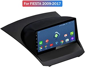 Foof Android Car Navigation Stereo for Ford Fiesta 2009-2017 Entertainment Multimedia Radio,WiFi/BT Tethering Internet,Support Steering Wheel Control Full Touch 1024X600