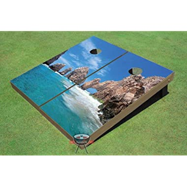 Mexican Beach Themed Cornhole Boards