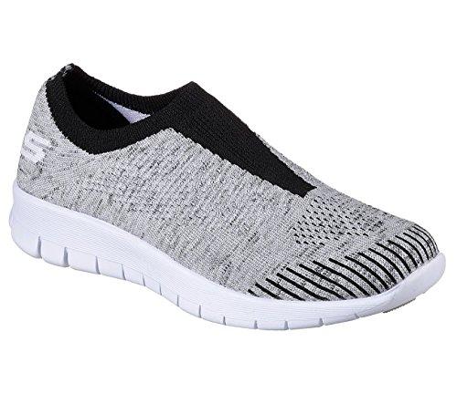 Gray Idea M Bright Skechers Women's Easy Gray Going Walking HOwYq