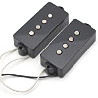 SAPHUE Alnico 5 P Bass Pickups Humbucker Pickup for 4 String P Bass Precision Bass Replacement