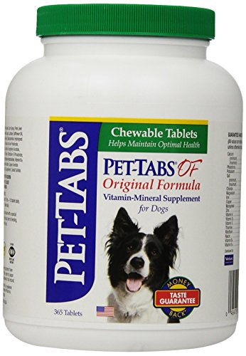 Pet-Tabs Original Formula Vitamin Supplement, 365 Count