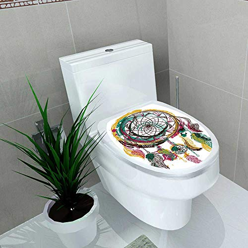 Used, Auraise-home Decoration Bathroom Toilet Cover Sticker for sale  Delivered anywhere in Canada