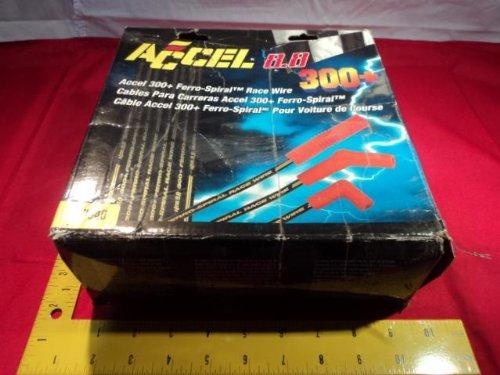 New ACCEL 8.8mm 7040 300+ FERRO-SPIRAL Universal SPARK PLUG RACE WIRE SET (300+ Ferro Spiral)