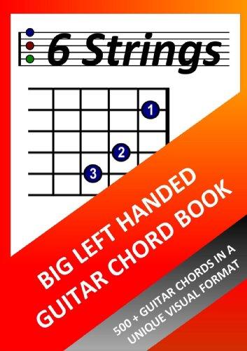 Chord Guitar Big Book - Big Left Handed Guitar Chord Book