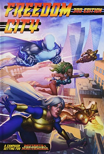 Mutants and Masterminds RPG Freedom City Campaign City (Mutant & Masterminds)