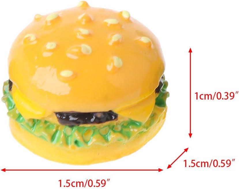 1:12 Hamburger DIY Craft Miniature Food Dollhouse Accessory Decoration