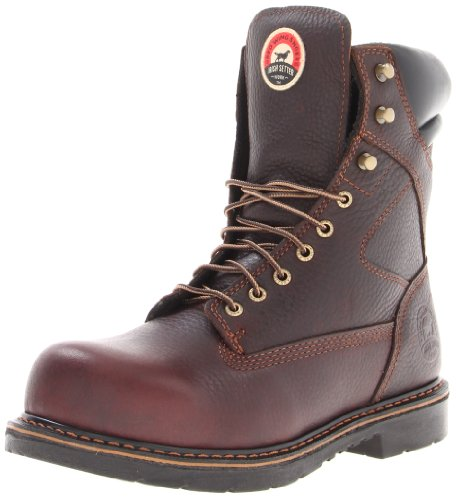 "Irish Setter Men's 8"" Steel Toe Work Boot,Brown,13 D US"