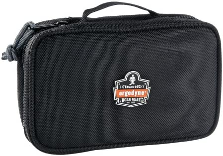 6126392ec437 Ergodyne Arsenal 5876 Clamshell Organizer Zippered Pouches, Small, Black