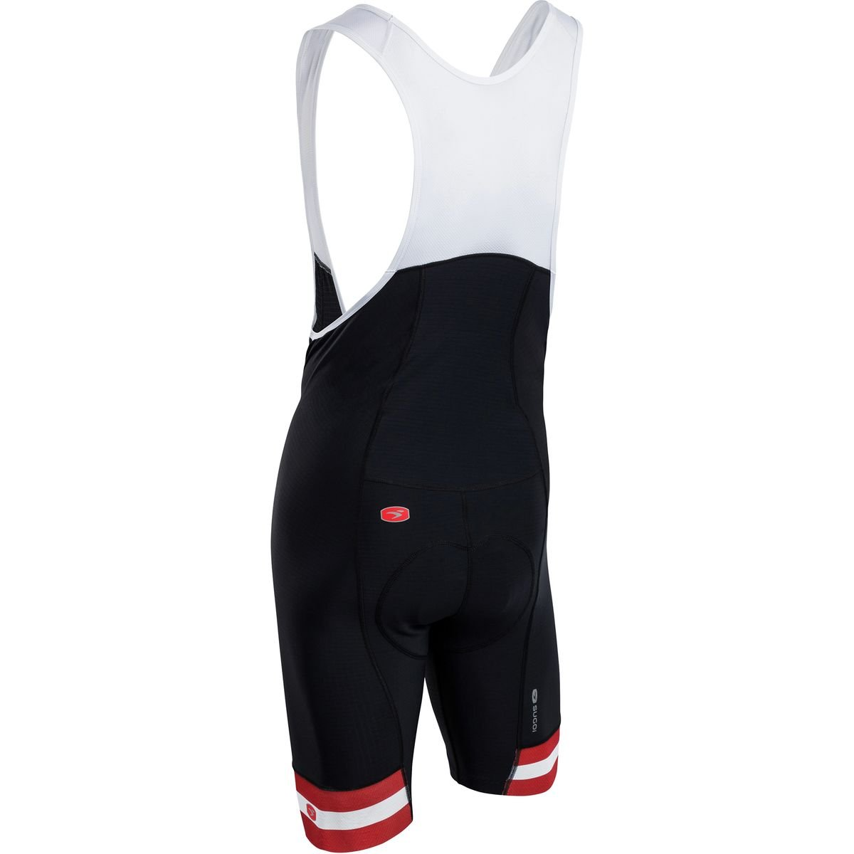 SUGOi Evolution Bib Short - Men's Chili Red 2, L by SUGOi (Image #2)