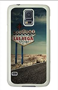 Samsung Galaxy S5 Cases and Covers - Las Vegas Polycarbonate Case for Samsung Galaxy S5 White