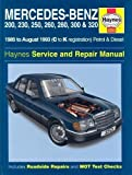 Mercedes-Benz 200, 230, 250, 260, 280, 300, 320 (124 Series) 1985-1993 Petrol & Diesel (Haynes Service and Repair Manuals) by Rendle, Steve, etc. published by Haynes Manuals Inc (1996)