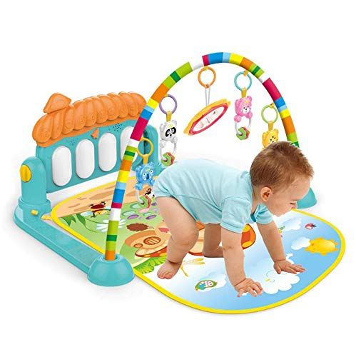 Kiditos Kick & Play Musical Keyboard Mat Piano Baby Play Mat Gym & Fitness Rack