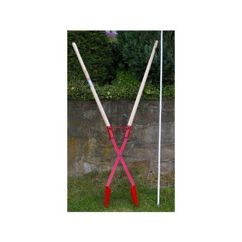 Erdlochausheber Erdausheber Handbagger Lochspaten 11 - 28 cm Jumbo 1 von Idealspaten, 10 Jahre Garantie