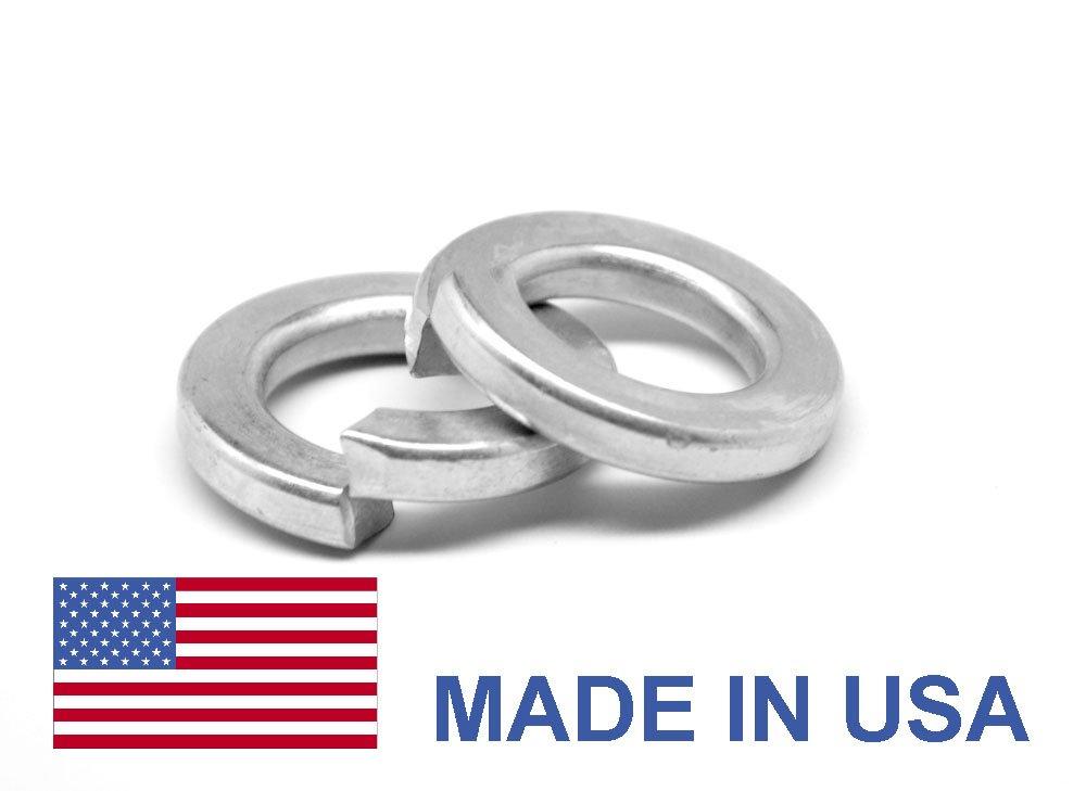 5/16'' Grade 8 Regular Split Lockwasher - USA Alloy Steel Black Oxide Pk 100