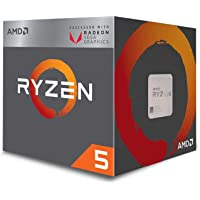 AMD Ryzen 5 3400G Processor (4C/8T, 6MB cache, 4.2GHz Max Boost) with Radeon RX Vega 11 Graphics