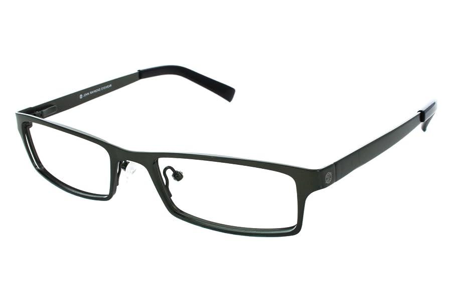 Amazon.com: John Raymond Men\'s Cut Eyeglass Frames Green: Clothing