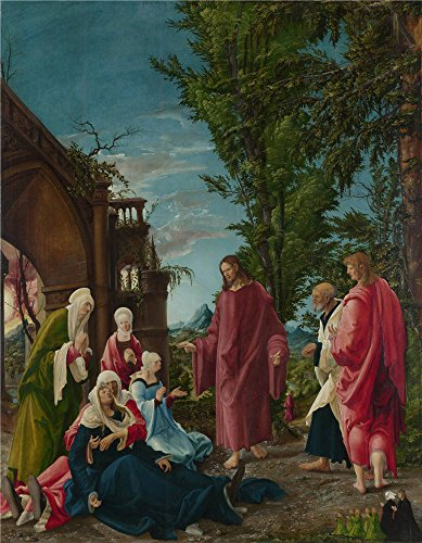 Oil Painting 'Albrecht Altdorfer - Christ Taking Leave Of His Mother,probably 1520' 24 x 31 inch / 61 x 78 cm , on High Definition HD canvas prints is for - Sunglasses Fox Redeem
