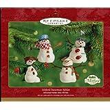 Hallmark Keepsake Ornament Mitford Snowman Jubilee 2001 QX2825