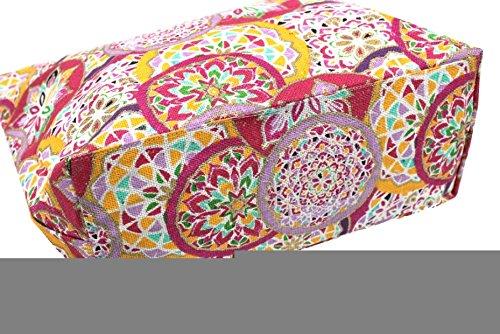Borsa mare Gian Marco Venturi mod.grande l.fiorata 44511 rosa