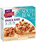South Beach Diet Snack Bars Toffee Nut -- 5 Snack Bars