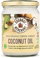 Coconut Merchant - Olio di Cocco Extra Vergine Biologico Crudo, 500 ml