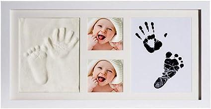 deco bebe cadeau bebe Cadre b/éb/é fait un parfait souvenir et un cadeau de douche de b/éb/é empreinte de b/éb/é Joyeee kit empreinte b/éb/é #4