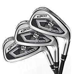 Without accuracy, power is nothing. That's why the new C300 irons from Wilson Staff have been designed to provide both. Power holes positioned all around and through the head of the Club create explosive distance across the entire face, prope...