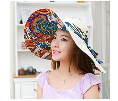 [New Fashion Bohemian Style High Quality Cloth Summer Sun Hat For Women Hat Large Visors Beach Hat] (Old Ash Ketchum Costume)